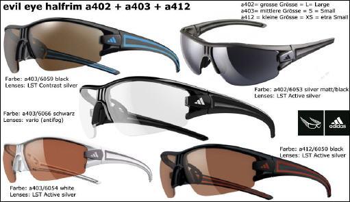 selvaggio Sbagliato Palestra  Onlineshop mit Sportbrillen und Sonnenbrillen von Adidas, Alpina, gloryfy,  Rudy Project, Rodenstock, Bolle, Dual Eyewear, Uvex, Swisseye, Smith, Bollé